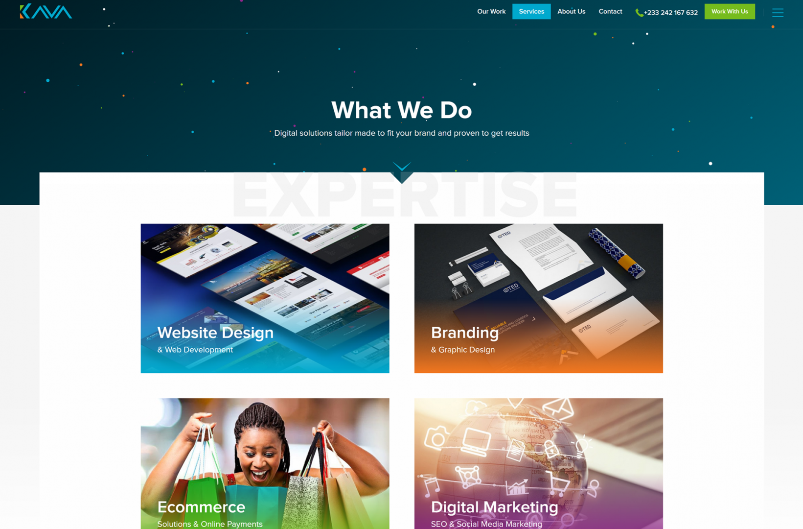 Kava Media Web Design Company Yiipowered
